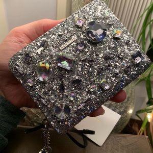 Authentic Kate Spade Jewels zip wallet/keychain🌹